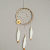 Golden Daze Part Four Boho Dreamcatcher Wall Hanging