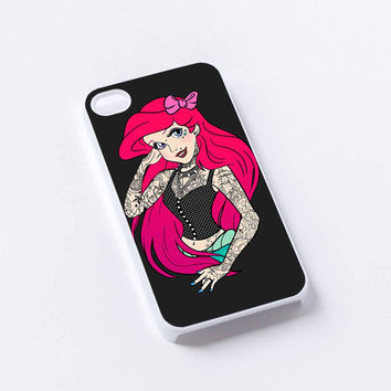little mermaid iPhone 4/4S, 5/5S, 5C,6,6plus,and Samsung s3,s4,s5,s6