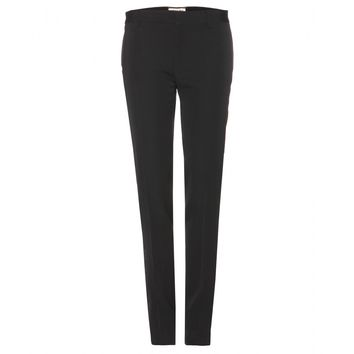 saint laurent - wool tuxedo trousers