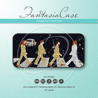 The beatles, Abbey Road, iPhone 5 case, iPhone 5C Case, iPhone 5S case, Phone cases, iPhone 4 Case, iPhone 4S Case, iPhone case, FC-0446
