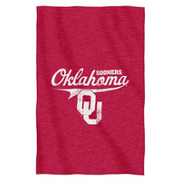 Oklahoma Sooners NCAA Sweatshirt Throw