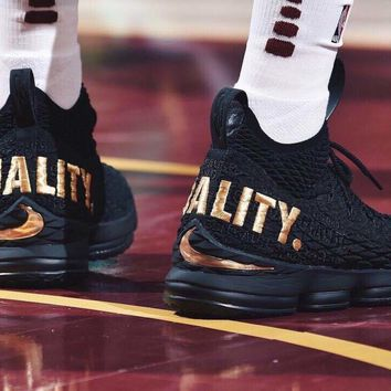 "Nike  LeBron James 15 XV ""EQUALITY""  Basketball Shoe"