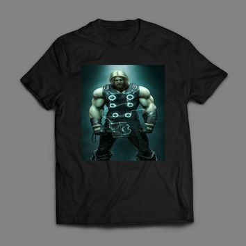 MARVEL'S THOR PAINTING T-SHIRT
