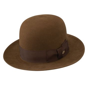 New York Open Crown Beaver Fedora by Stetson
