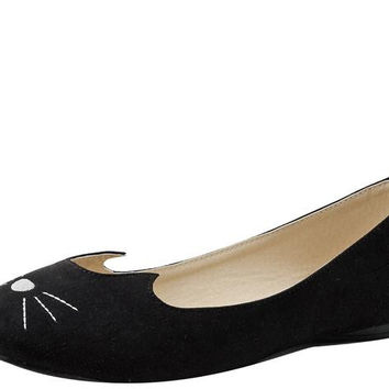 Black Sophistakitty Flats