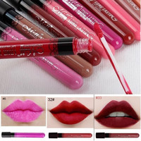 New Makeup Lip Gloss Waterproof Long-Lasting  Lip Tint Cute Style Plumper Liquid Matte Lip Stick brillo de labios 1580366