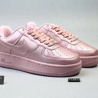 Wmns Nike  AF1 Ultra Flyknit Low Pink   Running Sneaker