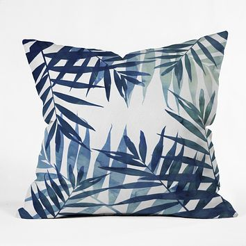 Emanuela Carratoni Sweet Tropicana Throw Pillow