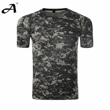 Summer Style Men Quick Dry Camouflage T shirt multi cmouflage fashionable Men Top Tee Shirt Fctory Direct Good Quality