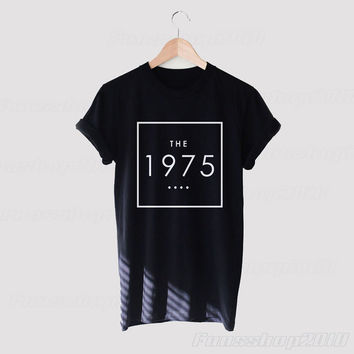 The 1975 Black White Unisex T Shirt