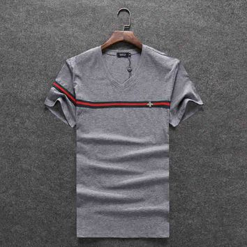 GUCCI Women Man Fashion Print Sport Shirt Top Tee-13
