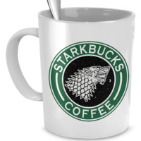 Game Of Thrones - Starkbucks Coffee Mug