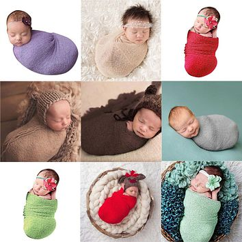 Baby Photography Accessories Photos Wraps Baby Newborn Photography Props Toddler Infant Swaddling Newborn