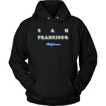 San Francisco California Hometown Tourist Gift Tee Hoodie