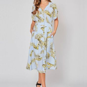 Going To The Tropics Dress