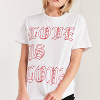 Kris Chau X UO Love Is Love Tee | Urban Outfitters