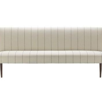 Fitzgerald Upholstered Bench, French Stripe