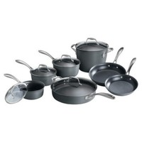 Member's Mark Hard Anodized Cookware Set - 12 pc