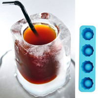Ice Cube Tray Mold Makes Shot Glasses