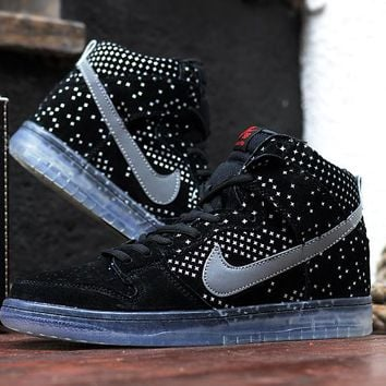Nike Dunk High Premium SB Flash 3M 806333-001 Size 36-44