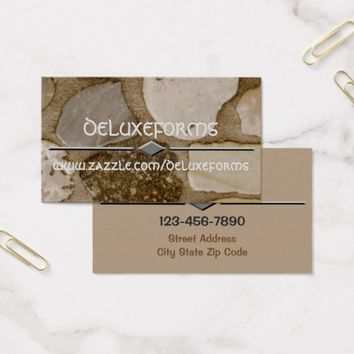 Marble Stones Business Card