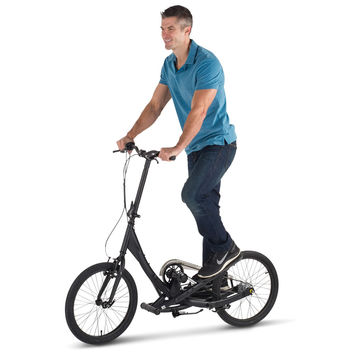 The Foldaway Stepper Bike