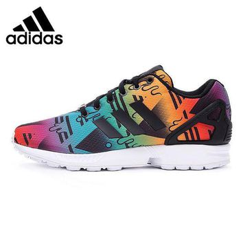 ICIKXI2 Original New Arrival Adidas Originals Zx Flux Men'S Printed Skateboarding Shoes Sneake