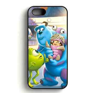 Monster Inc And Baby iPhone 5, iPhone 5s and iPhone 5S Gold case