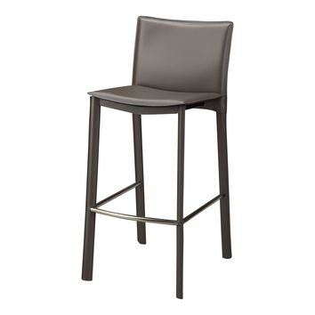 "Panca Counter Stool 26"""" Charcoal"""