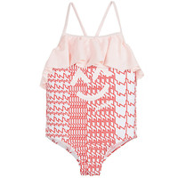 Kenzo Girls Printed Swimsuit | New Collection