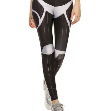"Women's ""Trooper"" Leggings by Poprageous (Black)"