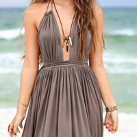 Ever So Lovely Olive Maxi Dress