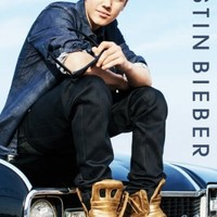 """Justin Bieber - Music / Personality Poster (Sitting On Car) (Size: 24"""" x 36"""")"""