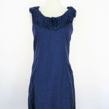 Baraschi by Yoana Baraschi for Anthropologie Purple Shift Rosette Dress 2