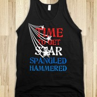 TIME TO GET STAR SPANGLED HAMMERED.