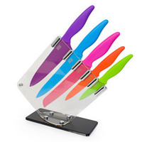 Taylor's Coloured Kitchen Knife Block  - buy at Firebox.com