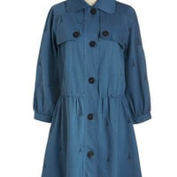 ModCloth French Long 3 Tower Guide Coat