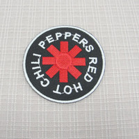 Iron on patch. Red Hot Chilli Peppers patch