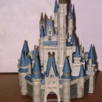 Build Your Own Walt Disneys Cinderella Castle