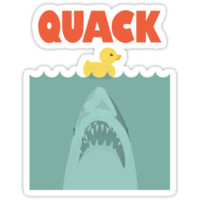 Jaws Rubber Duck 'Quack'