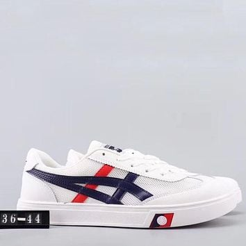 Trendsetter Onitsuka Tiger Mexico 66 Women Men Fashion Casual  Low-Top Old Skool Shoes