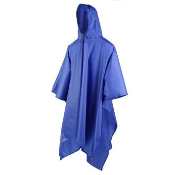 3 in 1 Waterproof Raincoat Outdoor Travel Rain Poncho Jackets Backpack Rain Cover with carry bag FREE SHIPPING
