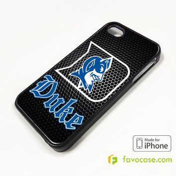 NEW DUKE BLUE DEVILS COLLEGE iPhone 4/4S 5/5S/SE 5C 6/6S 7 8 Plus X Case Cover