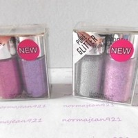 Lot of 2 HARD CANDY Poppin Pigments Pure Glitter #876 + #877