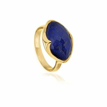 18k Gold Ring (Various Stone Doublets)