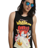 Disney Alice In Wonderland Tea Party Poster Tank Top