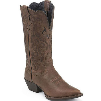 L2559 Women's Mustang Western Justin Boots  from Bootbay, Internet's Best Selection of Work, Outdoor, Western Boots and Shoes.