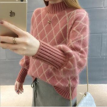 sweaters fashion 2018 women turtleneck female cashmere sweater vintage pullover fashions woman women sweater female cashmere