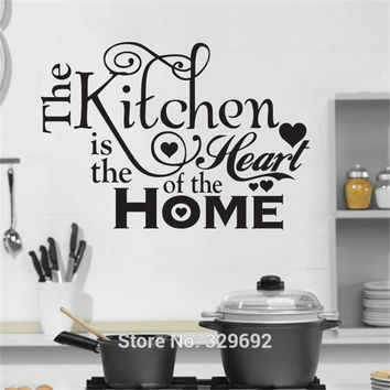 Kitchen House Of Love Vinyl Wall Sticker Home Decor Stickers