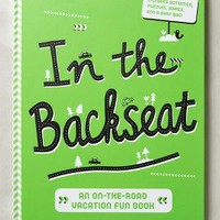 In The Backseat Activity Book by Anthropologie Green One Size House & Home